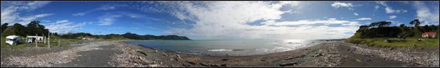 Waihau Bay Beach